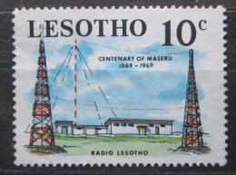 Poštovní známka Lesotho 1969 Rádiová stanice Mi# 68