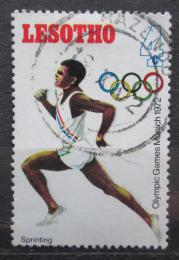 Poštovní známka Lesotho 1972 LOH Mnichov, bìh Mi# 124