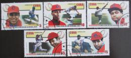 Poštovní známky Kuba 2004 Baseball Mi# 4654-58