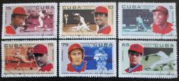 Poštovní známky Kuba 2003 Baseball Mi# 4559-64