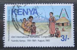 Poštovní známka Keòa 1985 Svìtový eucharistický kongres Mi# 344