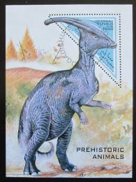 Poštovní známka Somálsko 1997 Parasaurolopus Mi# N/N