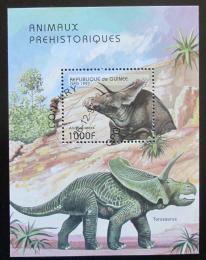 Poštovní známka Guinea 1997 Dinosauøi Mi# Block 517