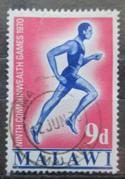 Poštovní známka Malawi 1970 Bìžec Mi# 129