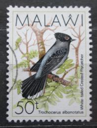 Poštovní známka Malawi 1988 Lejskovec lesní Mi# 511
