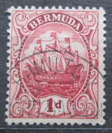 Poštovní známka Bermudy 1919 Karavela Mi# 36 c Kat 11€
