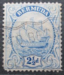 Poštovní známka Bermudy 1912 Karavela Mi# 38