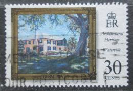 Poštovní známka Bermudy 1996 Architektura, Waterville Mi# 715