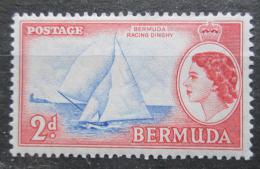 Poštovní známka Bermudy 1953 Plachetnice Victory II Mi# 133