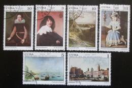 Poštovní známky Kuba 1977 Umìní Mi# 2190-95