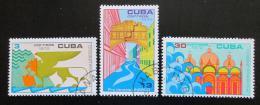 Poštovní známky Kuba 1972 Ochrana Benátek UNESCO Mi# 1828-30