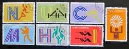 Poštovní známky Kuba 1972 LOH Mnichov Mi# 1790-96