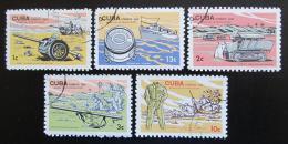 Poštovní známky Kuba 1965 Muzeum revoluce Mi# 1046-50