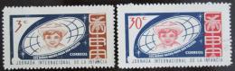 Poštovní známky Kuba 1963 Mezinárodní týden dìtí Mi# 847-48