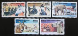 Poštovní známky Kuba 2006 Domácí zvíøata Mi# 4848,4850-53 Kat 4.50€