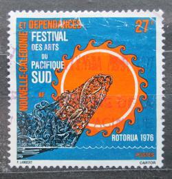 Poštovní známka Nová Kaledonie 1976 Jihopacifický festival umìní Mi# 576