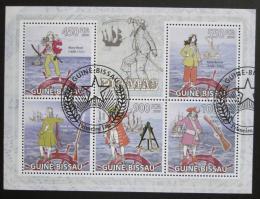 Poštovní známky Guinea-Bissau 2009 Piráti Karibiku Mi# 4498-4502 Kat 14€