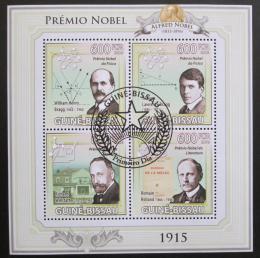 Poštovní známky Guinea-Bissau 2009 Nobelova cena Mi# 4541-44 Kat 10€