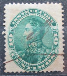 Poštovní známka Venezuela 1893 Simón Bolívar, kolkovací Mi# 57