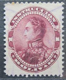 Poštovní známka Venezuela 1893 Simón Bolívar, kolkovací Mi# 60