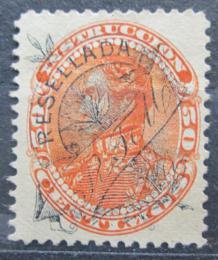 Poštovní známka Venezuela 1900 Simón Bolívar, kolkovací pøetisk Mi# 67