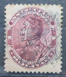 Poštovní známka Venezuela 1900 Simón Bolívar, kolkovací pøetisk Mi# 68