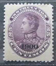Poštovní známka Venezuela 1900 Simón Bolívar pøetisk Mi# 74