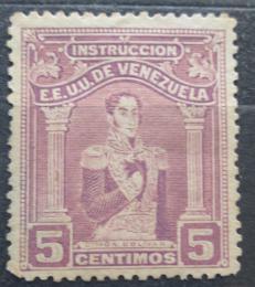 Poštovní známka Venezuela 1914 Simón Bolívar, kolkovací Mi# 107