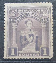 Poštovní známka Venezuela 1914 Simón Bolívar, kolkovací Mi# 111