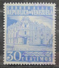 Poštovní známka Venezuela 1958 Hlavní pošta v Caracasu Mi# 1212