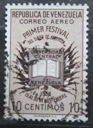 Poštovní známka Venezuela 1957 Otevøená kniha Mi# 1151