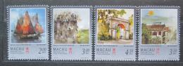 Poštovní známky Macao 1997 Pohledy z ostrova Mi# 899-902