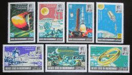 Poštovní známky Aden Qu´aiti 1967 Prùzkum vesmíru Mi# 115-21 Kat 8€