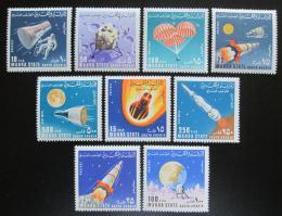 Poštovní známky Aden Mahra 1967 Prùzkum vesmíru Mi# 58-66 Kat 7.50€