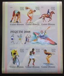 Poštovní známky Guinea-Bissau 2005 LOH Peking neperf. Mi# 3121-26 B