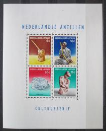 Poštovní známky Nizozemské Antily 1962 Umìní domorodcù Mi# Block 1