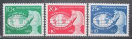 Poštovní známky Nizozemské Antily 1962 Šachy Mi# 124-26