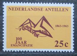 Poštovní známka Nizozemské Antily 1963 Zrušení otroctví, 100. výroèí Mi# 130