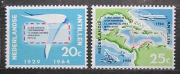 Poštovní známky Nizozemské Antily 1964 Lety na Curacao Mi# 139-40