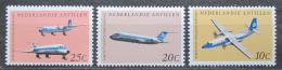 Poštovní známky Nizozemské Antily 1968 Letadla Mi# 198-200