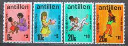 Poštovní známky Nizozemské Antily 1970 Dìtský svìt Mi# 224-27