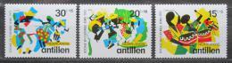 Poštovní známky Nizozemské Antily 1972 Svátky a oslavy Mi# 246-48