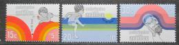 Poštovní známky Nizozemské Antily 1972 Dìtské hry Mi# 251-53