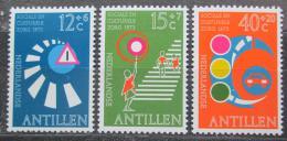 Poštovní známky Nizozemské Antily 1973 Dopravní pøedpisy Mi# 263-65
