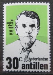 Poštovní známka Nizozemské Antily 1973 Jan Hendrik Albert Eman, politik Mi# 273