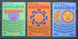 Poštovní známky Nizozemské Antily 1974 Dìtské písnièky Mi# 289-91