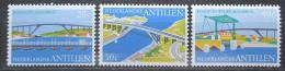 Poštovní známky Nizozemské Antily 1975 Mosty Mi# 292-94