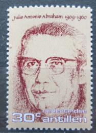 Poštovní známka Nizozemské Antily 1976 Julio Antonio Abraham, politik Mi# 313