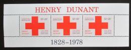 Poštovní známky Nizozemské Antily 1978 Èervený køíž Mi# Block 7