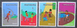 Poštovní známky Nizozemské Antily 1978 Dìtské aktivity Mi# 374-77